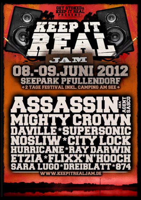 Keep it Real Jam 2012