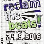 Reclaim the Beats am 24.09.2016