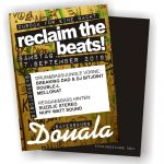 Flyer Reclaim the Beats!