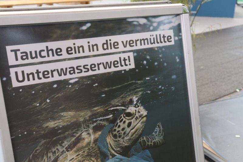 Tauche in in die vermüllte Unterwasserwelt