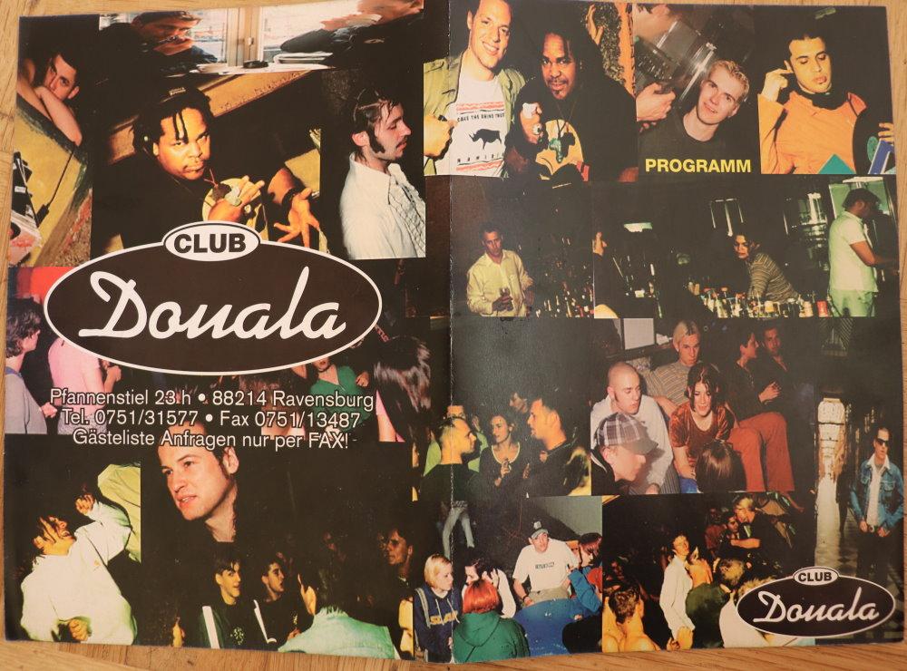 Douala-Flyer aus den Neunzigern